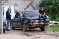 В Плеханово начали сносить дома в цыганском таборе, Фото: 26