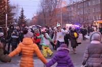 Открытие центральной елки в Новомосковске, Фото: 2