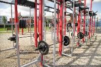 В Туле на набережной Упы открылась уникальная спортплощадка для занятий фитнесом и бодибилдингом, Фото: 7