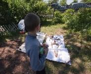 Останки бойцов в деревне Криволучье, Фото: 58