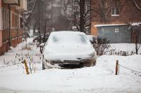 Последствия снежного циклона в Туле, Фото: 20