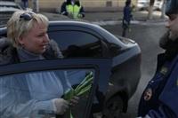 Полицейские поздравили автоледи с 8 Марта, Фото: 30