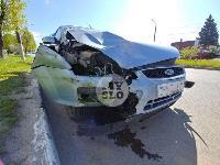 В Туле пьяная автоледи скрываясь с места ДТП врезалась в еще одну машину, Фото: 1