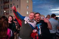Как туляки поддерживали сборную России в матче с Бельгией, Фото: 21