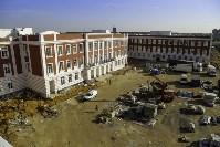 Осмотр стоящегося суворовского училища. 22 августа, Фото: 12
