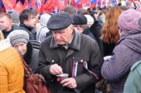 В Туле прошел митинг в поддержку Крыма, Фото: 20