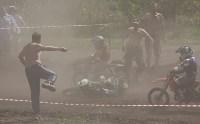 Юные мотоциклисты соревновались в мотокроссе в Новомосковске, Фото: 109