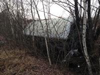 В Тульской области перевернулся пассажирский автобус, Фото: 3