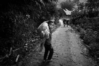 «Жить ради смерти» – финалист в категории циклов. В Тораджи (Индонезия) ритуалы, связанные с погребением, очень сложные. После смерти человека семье могут потребоваться недели, месяцы или даже годы, чтобы захоронить его. Все это время родные считают его «больным» и держат дома. В районе Пангала существует церемония Манене, которая проходит после сбора урожая. Во время её проведения гробы открываются, жители достают из них мумии, очищают, сушат на солнце и переодевают., Фото: 12