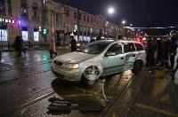 В центре Тулы пробка из-за ДТП с маршруткой, Фото: 2