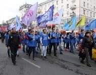 Первомайское шествие и митинг, Фото: 2