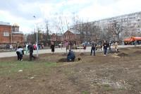 Закладка вишнёвого сада в Заречье 18 апреля 2015 года, Фото: 26