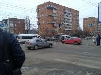 Авария в Пролетарском районе днём 17 января, Фото: 1