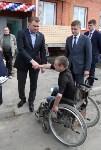 Воловские новоселы поручили ключи от квартир из рук Алексея Дюмина, Фото: 14