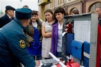 Пожарно-тактические учения в ТЦ «Гостиный двор», Фото: 2