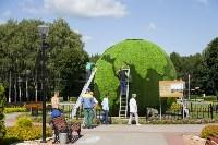 Арт-объект «Зеленая планета», Фото: 4