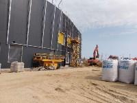строительство ледовой арены в Туле, Фото: 3