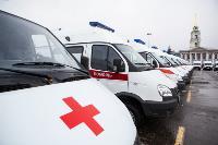 Алексей Дюмин передал региональному Центру медицины катастроф 39 новых автомобилей, Фото: 9