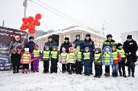 Автофлешмоб на площади Ленина в честь Дня памяти жертв ДТП, Фото: 19