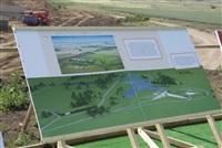 Владимир Груздев посетил строительную площадку нового музейного комплекса «Поле Куликовской битвы», Фото: 1