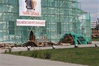 Ход работ по восстановлению Кремля, Фото: 4
