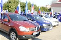 Автопробег на День российского флага, Фото: 2