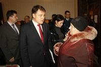 Владимир Груздев в Белевском районе. 17 декабря 2013, Фото: 75