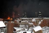 В пос. Менделеевский сгорел частный дом., Фото: 4