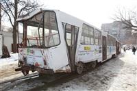 ДТП с участием двух трамваев. , Фото: 9