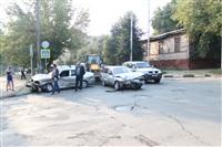 ДТП на перекрестке улиц Свободы и Пушкинской. 23 августа, Фото: 1