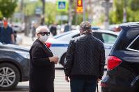 Полицейский рейд в тульских маршрутках: на пассажиров без масок составляют протоколы, Фото: 45