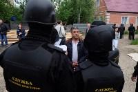В Плеханово начали сносить дома в цыганском таборе, Фото: 34