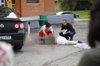 Женщина выпала из окна 11-го этажа на ул. Макаренко в Туле, Фото: 6