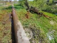 В деревне под Тулой из водопроводной трубы забили девять фонтанов, Фото: 12