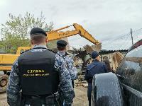 Снос незаконных павильонов в Заречье, Фото: 1