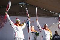 Эстафета Олимпийского огня. Ясная Поляна, Фото: 23