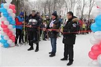 Открытие лыжероллерной трассы в Новомосковске, Фото: 6