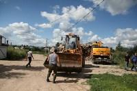 Снос незаконных построек в Плеханово, Фото: 6