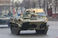 По Туле прошла колонна военной техники, Фото: 2
