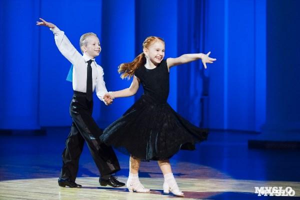 Ульяна Голубинцева и Кирилл Долженко, танцевально-спортивный центр «Империя». Руководитель: Альберт Гильванов.