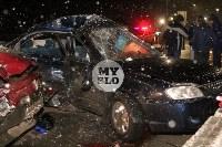 В ДТП на М-2 в Туле пострадали четыре человека, Фото: 7