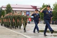 Дмитрий Глушенков простился со знаменем дивизии, Фото: 40