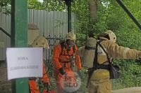 В Туле сотрудники МЧС эвакуировали госпитали госпиталь для больных коронавирусом, Фото: 47