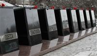 Возложение цветов к памятнику на площади Победы. 21 февраля 2014, Фото: 16