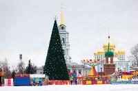 Праздничное оформление площади Ленина. Декабрь 2014., Фото: 3