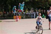 В Туле прошел флешмоб «Читающий парк», Фото: 21