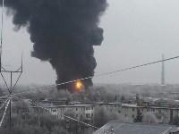 Пожар на хладокомбинате в соцсетях, Фото: 1