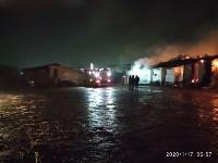 В Ясногорске загорелся склад для хранения зерна, Фото: 7