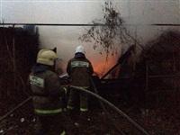 В Пролетарском районе сгорел дом, Фото: 5