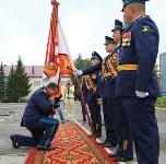Дмитрий Глушенков простился со знаменем дивизии, Фото: 18